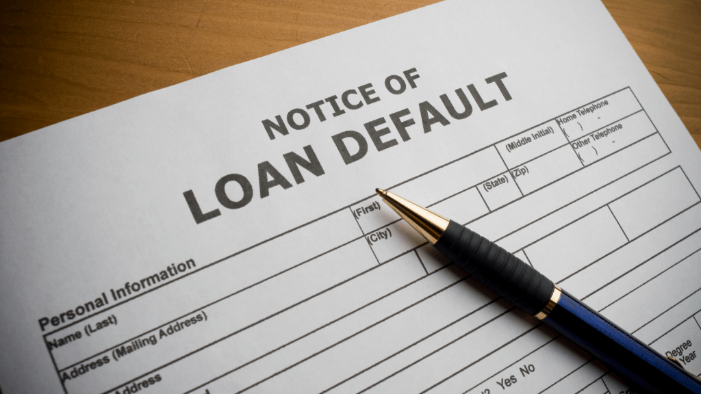 What if a borrower defaults_